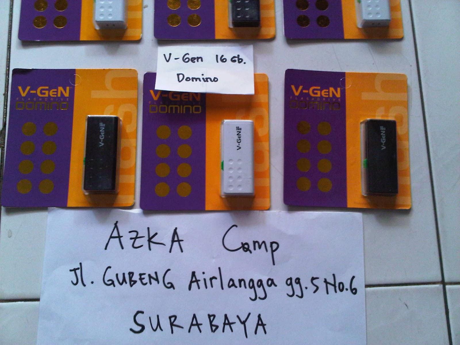 Azka Computer Surabaya Flash Disk V Gen Lifetime Warranty Flashdisk Vgen 8gb Domino 16gb