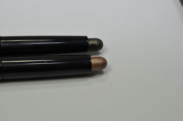 NARS Velvet Shadow Sticks in Angle Noir and Oaxaca