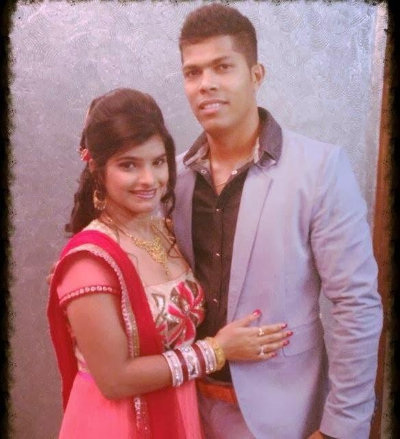 Umesh Yadav (Cricketer) family