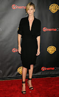 Charlize Theron at 2015 CinemaCon red carpet