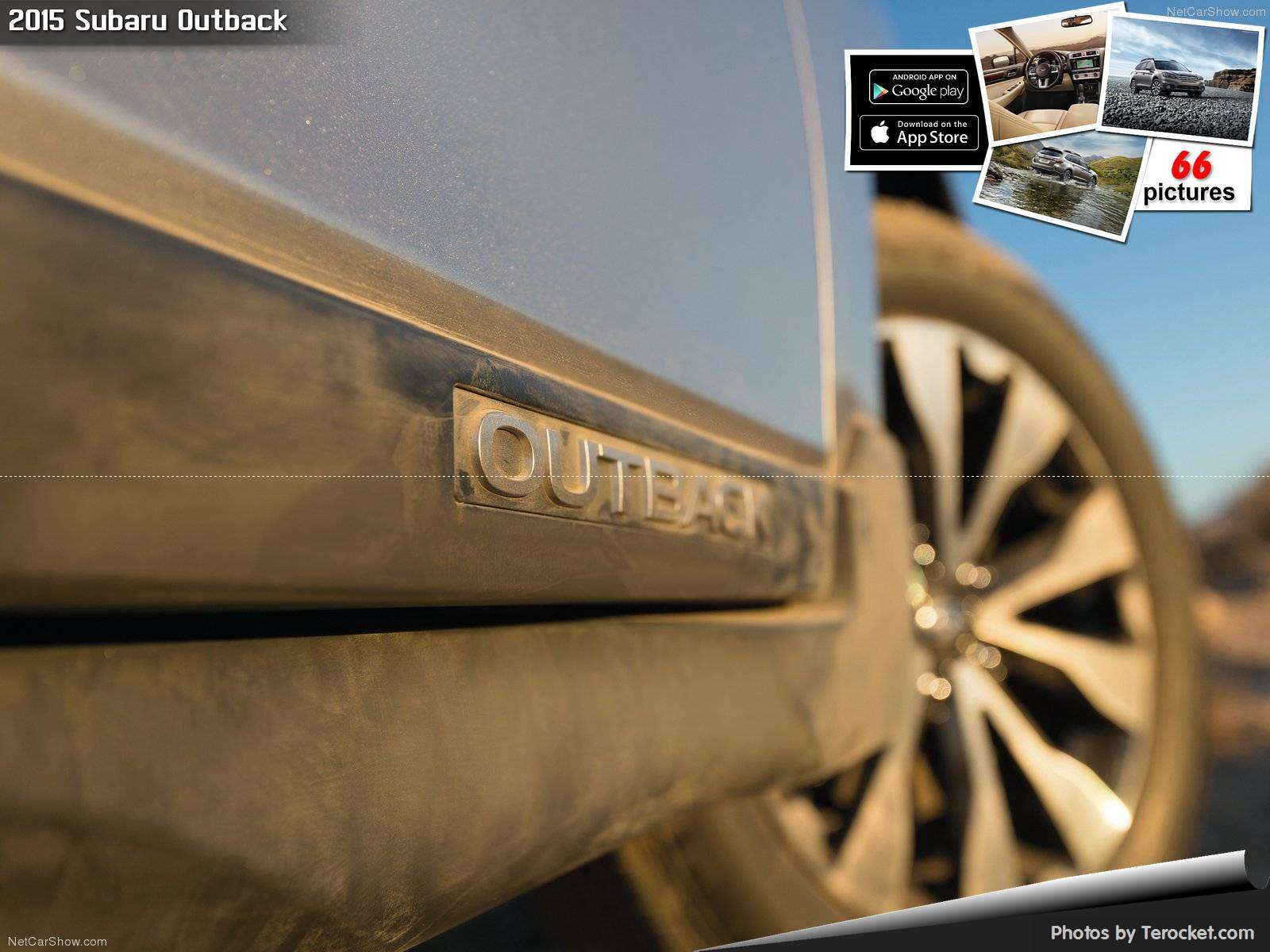 Hình ảnh xe ô tô Subaru Outback 2015 & nội ngoại thất