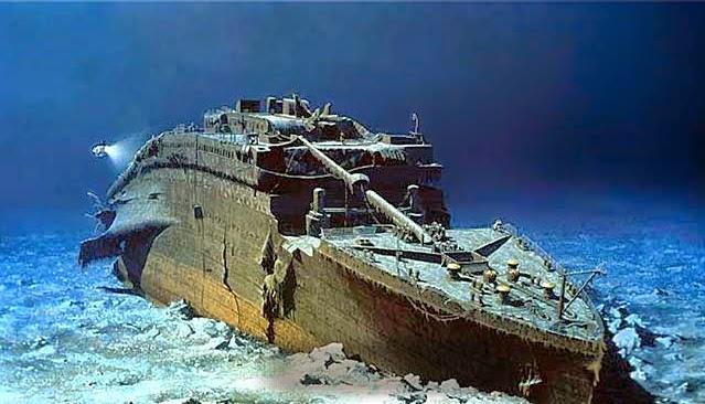 Titanic,bangkai kapal,kapal karam,berhantu,unik,foto Titanic asli