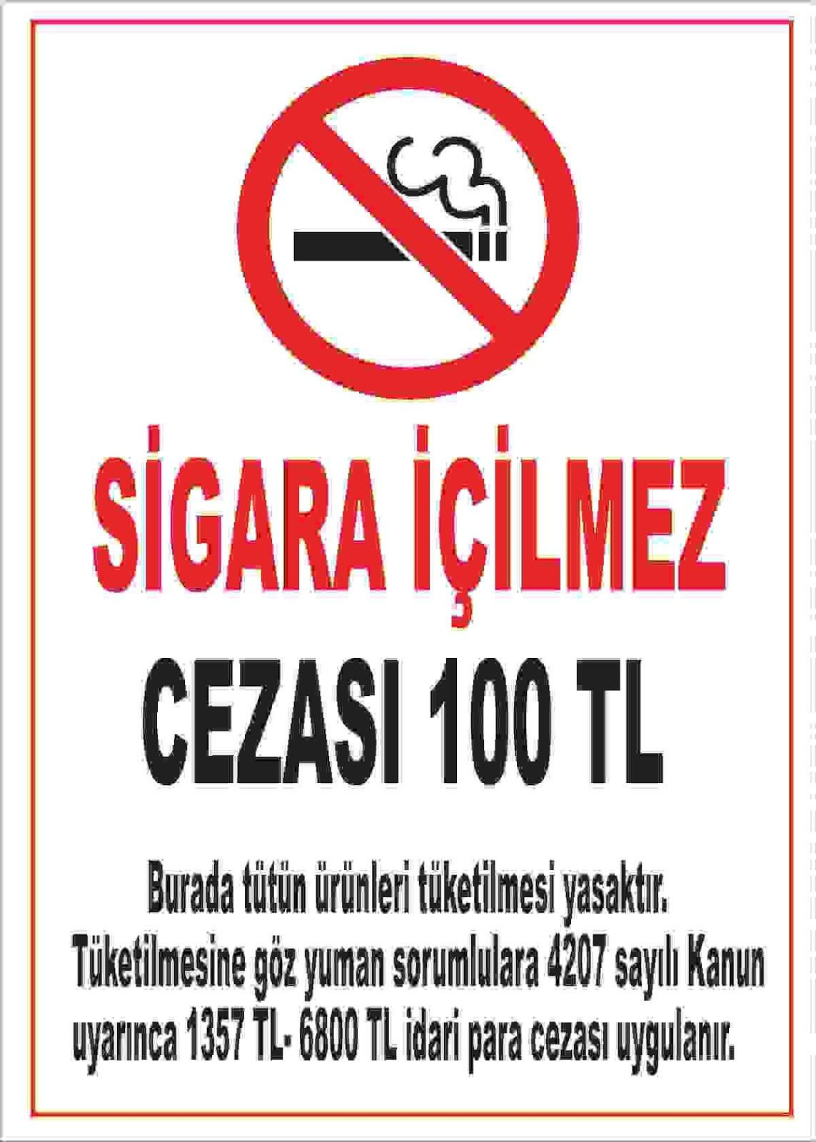 Sigara içme imkânı