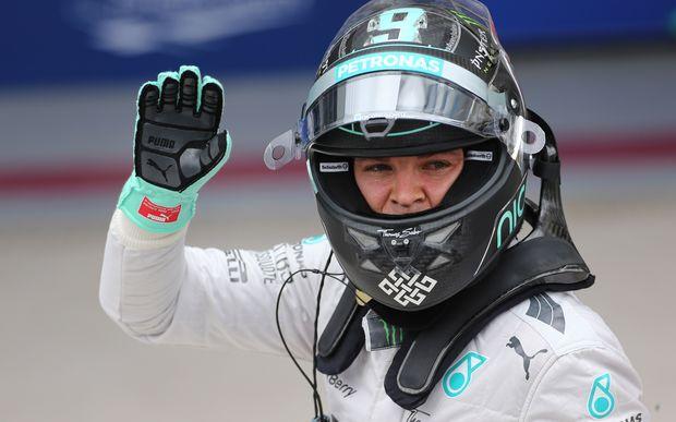 Mercedes Formula One driver Nico Rosberg.