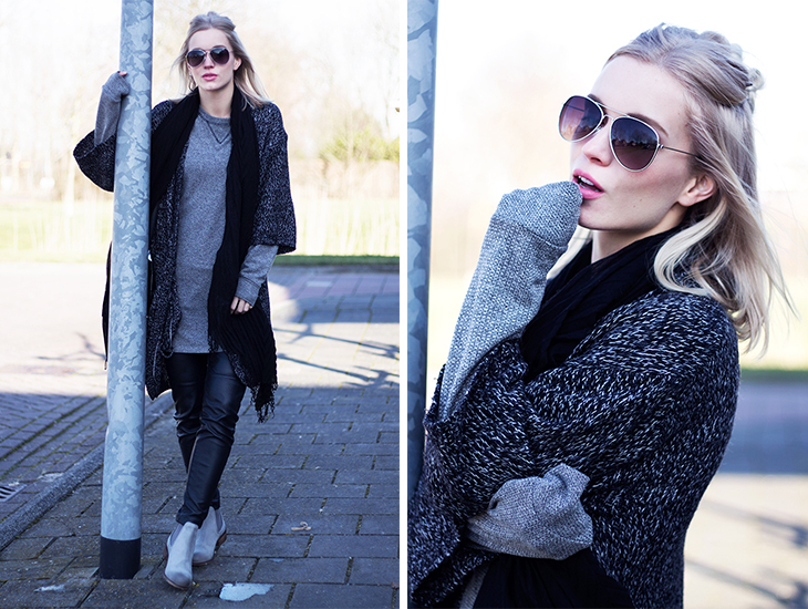 Fashion Attacks outfit ootd Shade of Grey