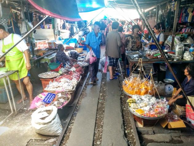 Risky market of Thailand
