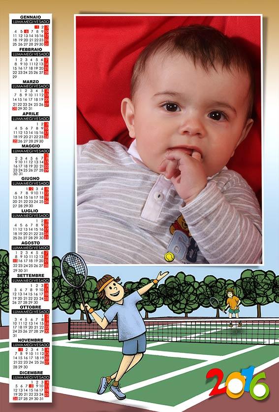 Favori risorse per photoshop: Anteprima calendari 2016 DV26