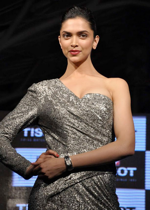 deepika padukone at tissot watches new spicy hot images