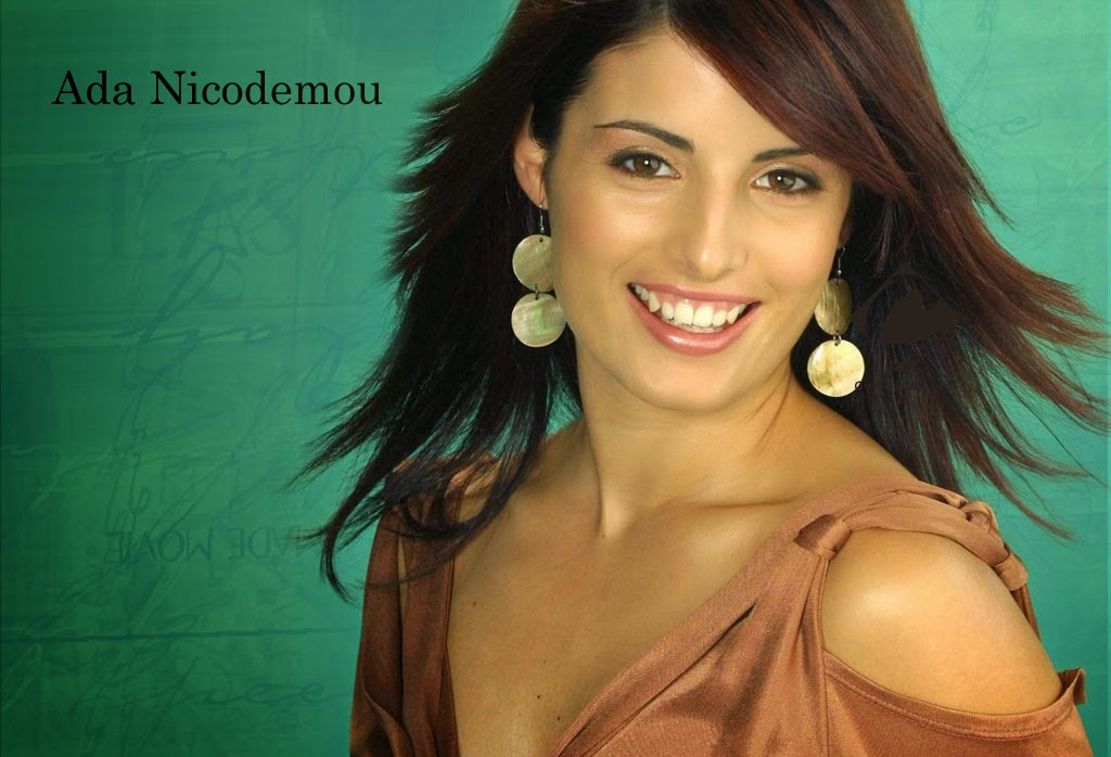 Hollywood Actress Ada Nicodemou latest free hd wallpaper