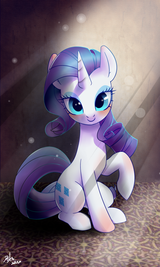 Rarity is So pretty Rarity