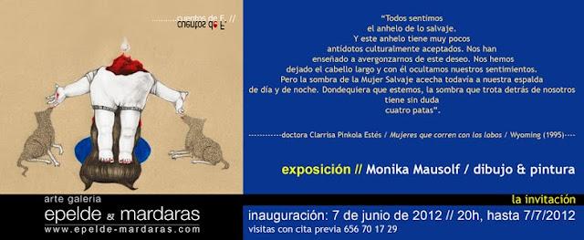 """""""Cuentos de F."""". Exposición de Monika Mausolf en epelde&mardaras arte galería"""