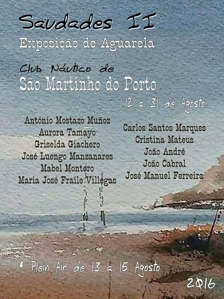 Exposición de pintura en Portugal