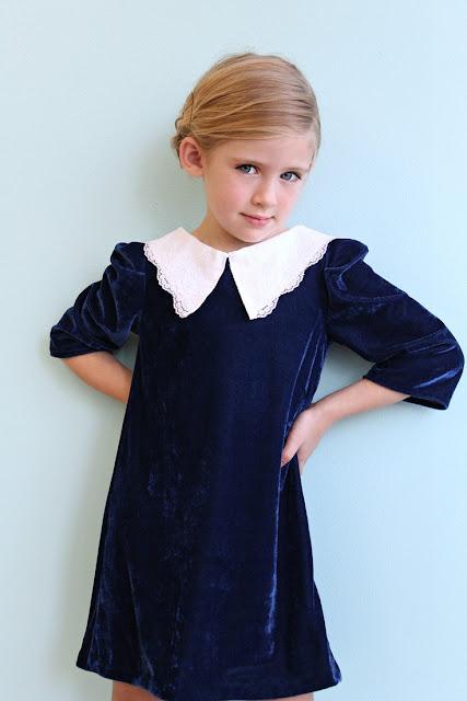 vestido terciopelo #modaniña #ministyle #pequeñafashionista