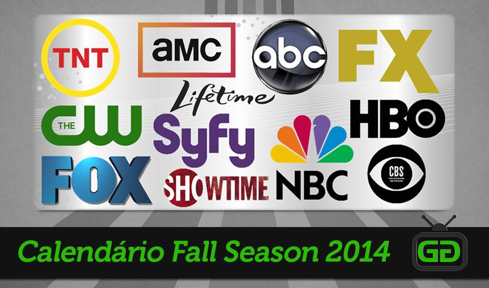 Calendário Fall Season 2014