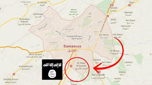 ISIS Masuki Jantung Kota Damaskus