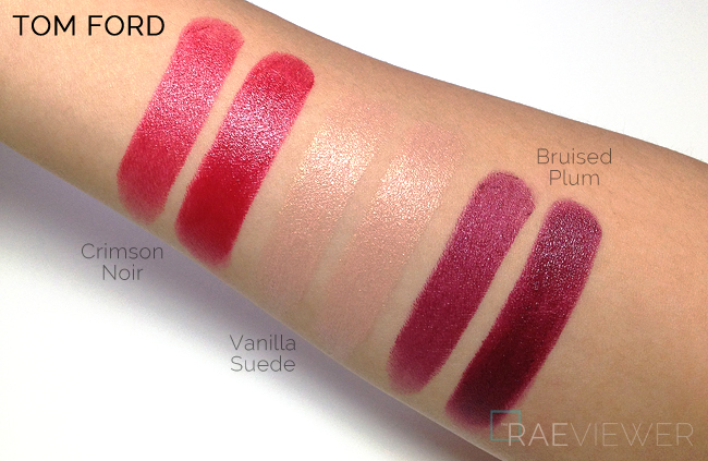 Bmw Cufflinks Tom Ford Bruised Plum Lipstick Swatch on Pink Ford Edge