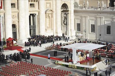Misa de Inauguración Papal