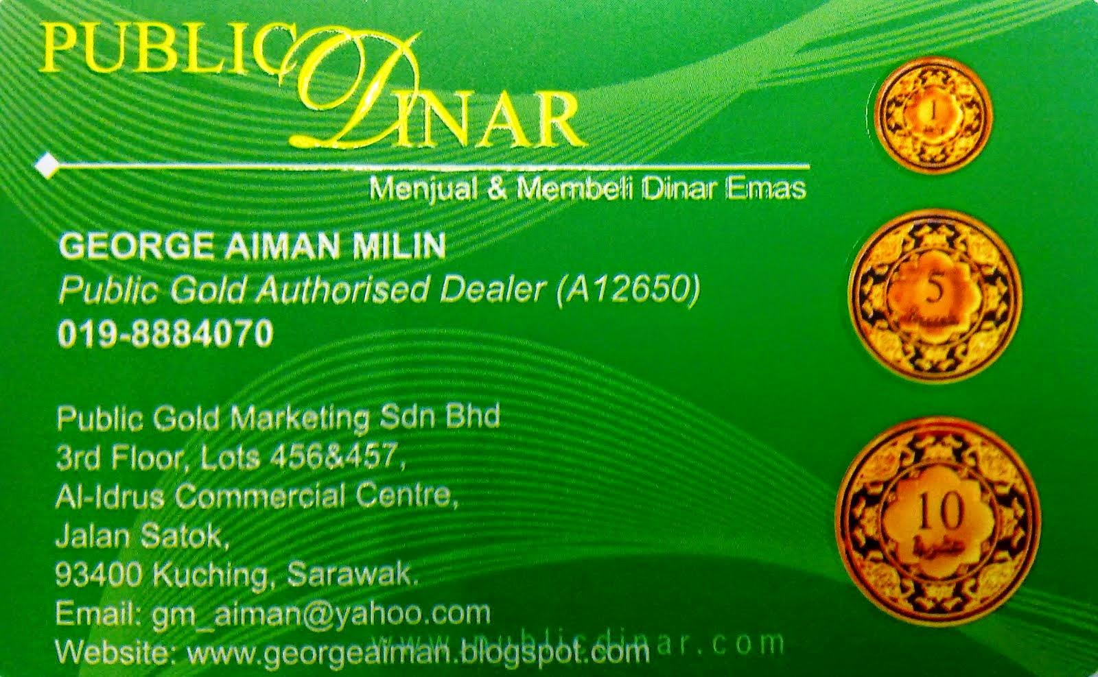 Name Card PB Dinar