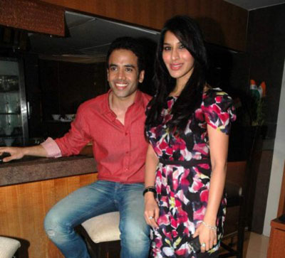 Tushar Kapoor, Sophie Choudry and Ekta at Valentine Event for Singles