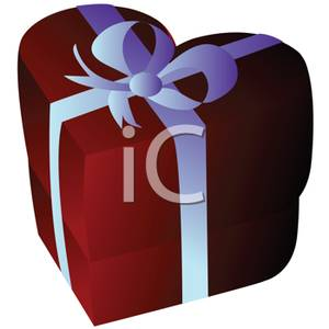 Birthday Gift Box Clipart