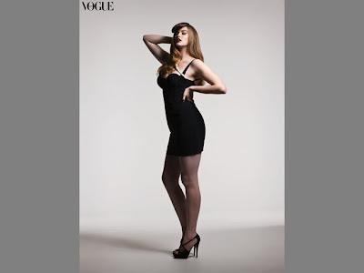 la primera modelo gorda en Vogue