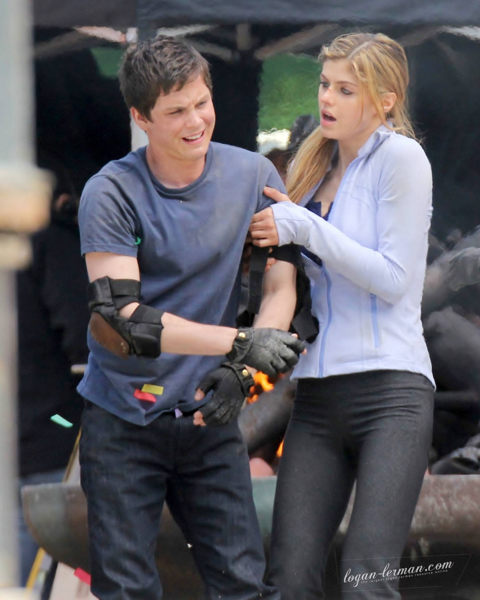 Percy Jackson Sea of Monsters (2013) First Look