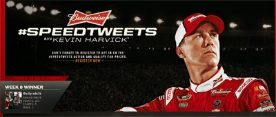 #SPEEDTWEETS is a NASCAR Sweepstakes that runs until 07/05/14