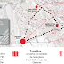 La dispersión de recintos de fiestas del Carmen pone 1,7 kilómetros entre 'txosnas' y barracas