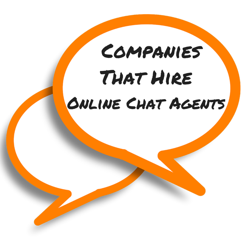 companies that hire online chat agents