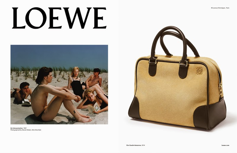 Loewe Fall Winter 2015 campaign Publicidad Subliminal