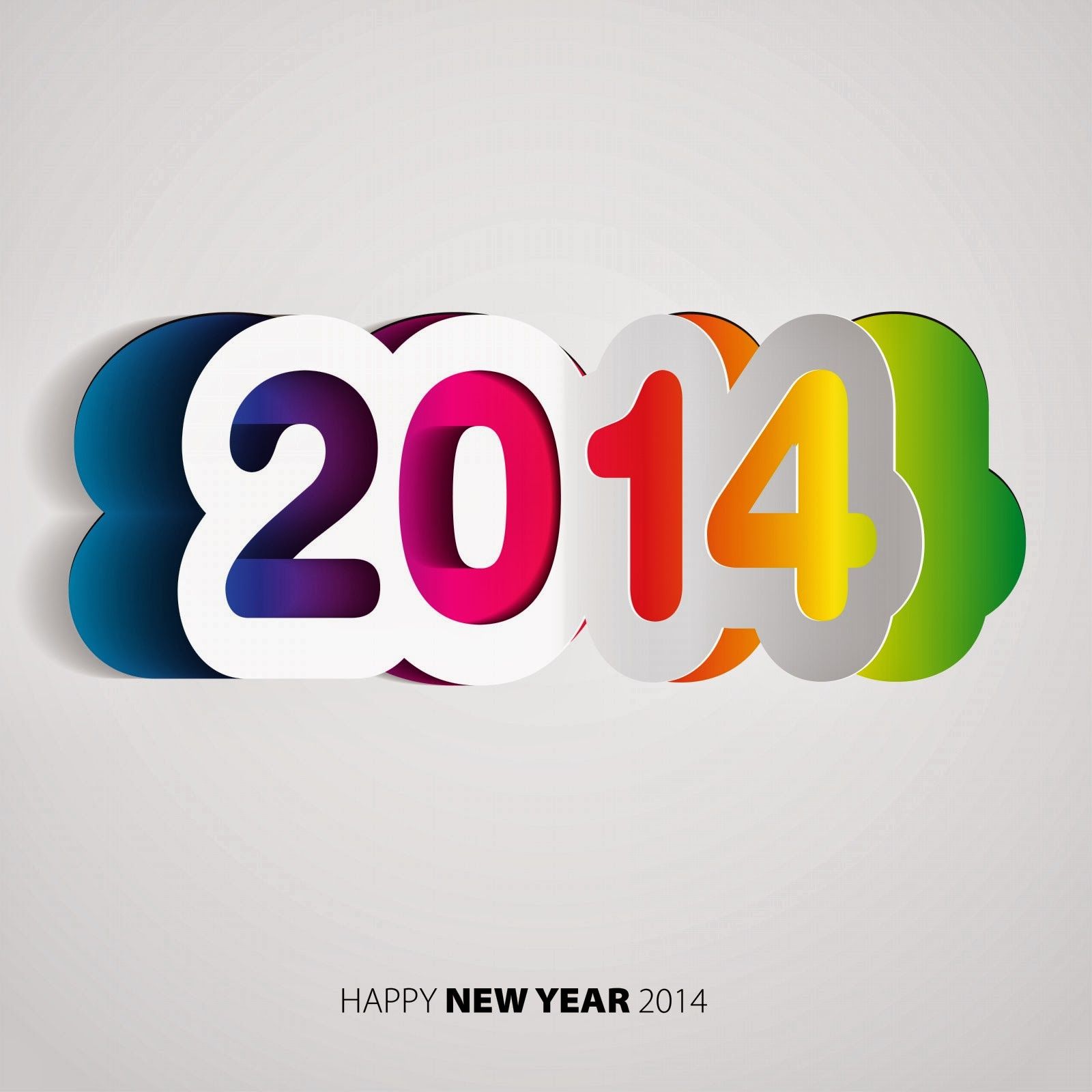 Amazing 2014 text designs happy new year web designer seo happy new year designs for facebook status twitter photoshop tutorials guide baditri Gallery