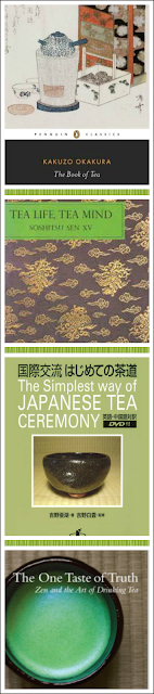Japanese Tea Books curated collection by Katherine Bellman