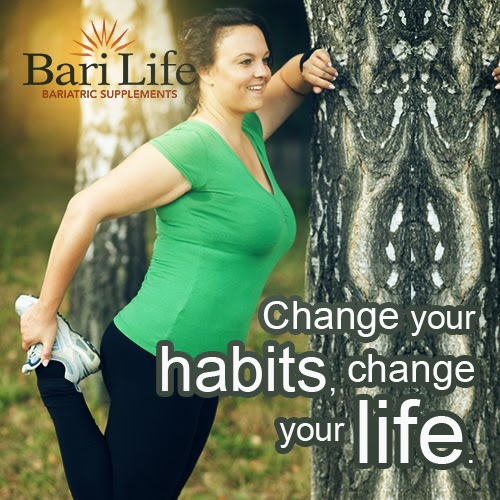 Post bariatric surgery break a habit or form a new one