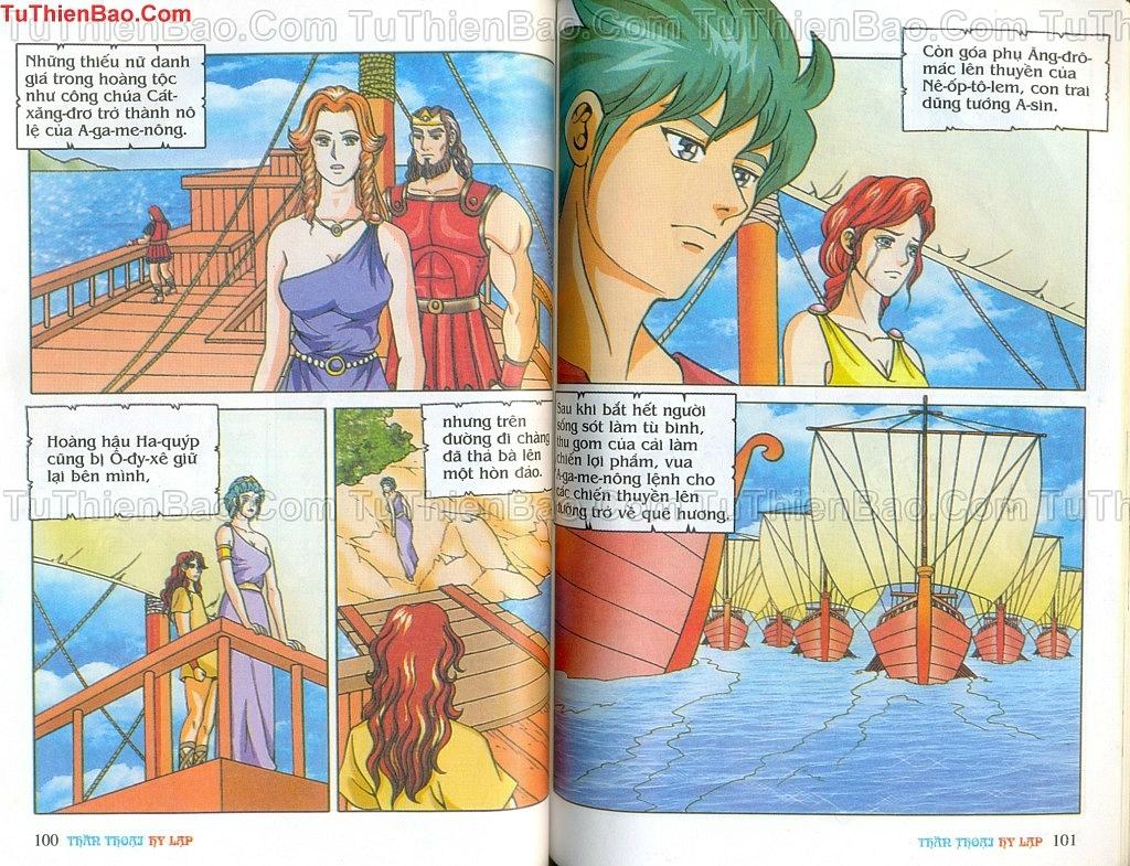 Thần thoại Hy Lạp Chapter 14 - Trang 49