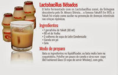 Vodka com Morango, frutas, leite condensado, etc.