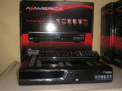 Novo Dump Azamerica S812 Claro Tv 09-12-2012