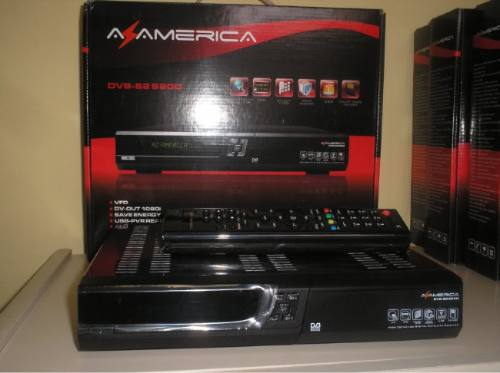 Novo Dump Azamerica S812 Claro Tv  Dezembro 2012