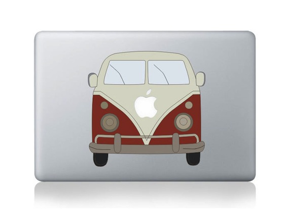 VW Brand Car MacBook Sticker