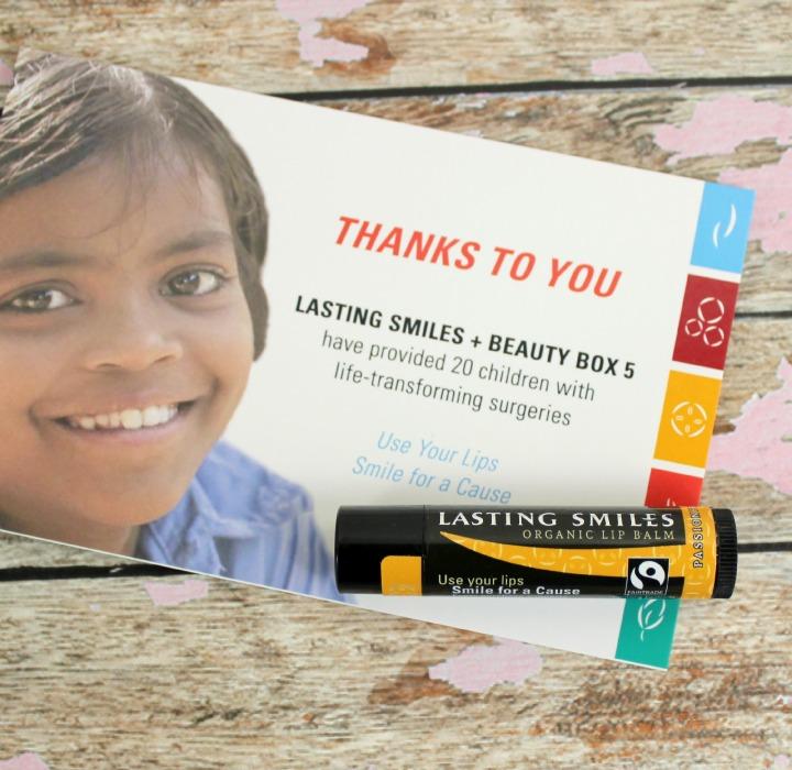Lasting Smiles Passionfruit Mango Organic Lip Balm