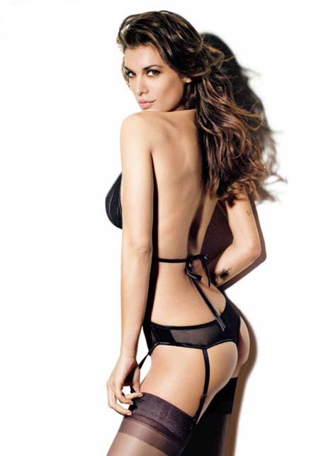 Elisabetta Canalis Sexy Underwear Wallpapers