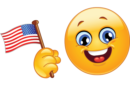 Patriot smiley