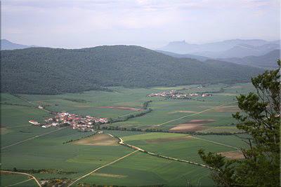 Panorámica del Valle de Arana