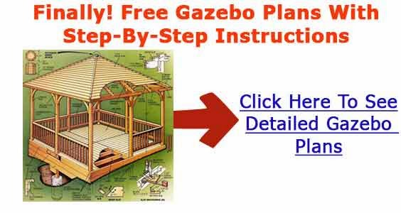 Gazebo building plans methods for gazebo construction for Step by step to build a house yourself