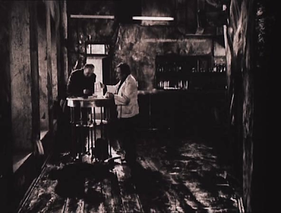 opening scene in stalker, Shabby Bar, professor, writer, bar attendant, stalker, directed by andrei tarkovsky