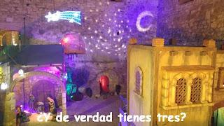 Melilla-La Vieja-Foso de hornabeque-Belén-Navidad