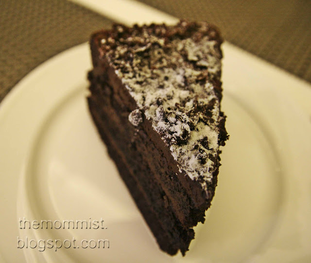 Supermoist chocolate cake