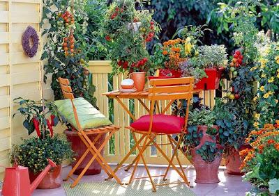 foto de hermoso balcón