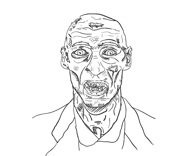 free minecraft zombie coloring pages - photo#29
