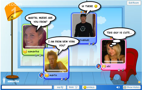 pros and cons of chat rooms Chatstep is pretty simple and easy to use service where you can create chat rooms and add people quickly and  pros of chatstep free to  cons of.