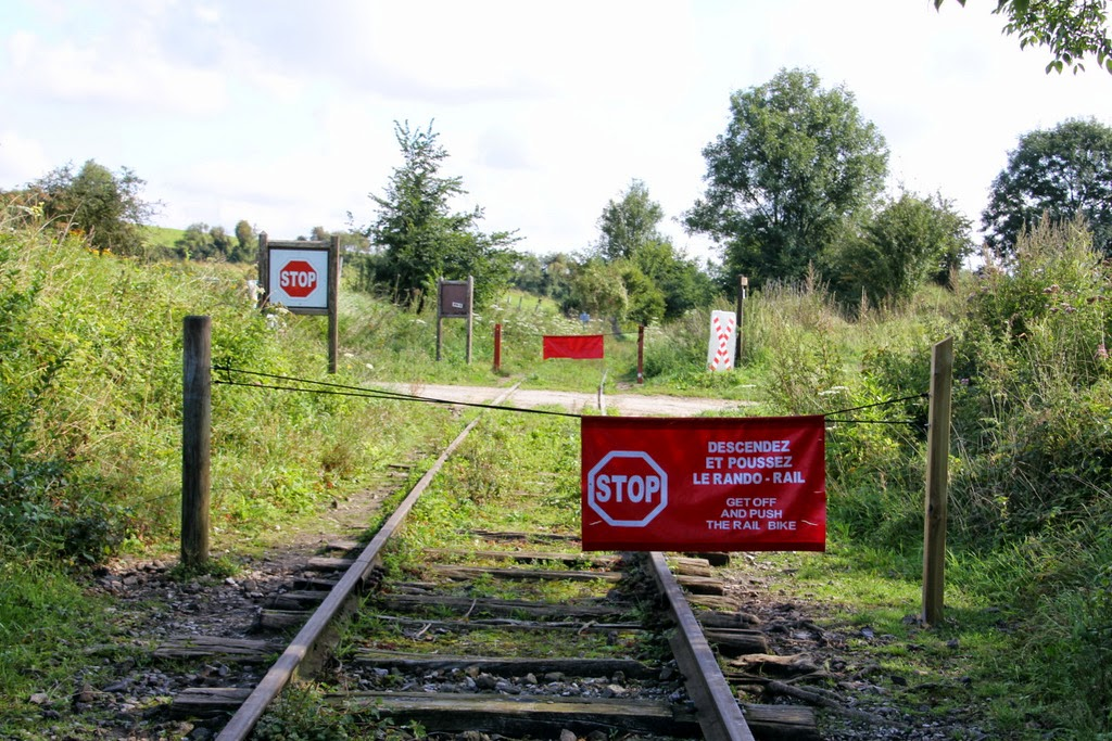 Ancienne voie ferrée rando rail pas de calais tourisme insolite activité chemin de fer